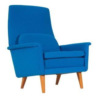 1950s Alf Svensson for Dux Highback Sonett Lounge Chair For Sale