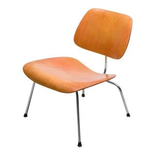 1950 Eames LCM with Red Aniline Dye Finish