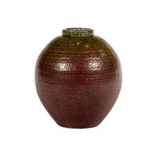 1960s Studio Art Pottery Vase