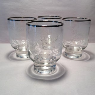 Vintage Double Old Fashion Cocktail Glasses - Set of 4 Preview