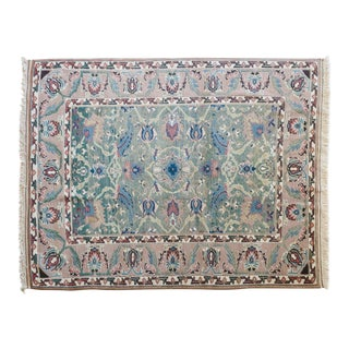 Late 20th Century Ekber Turkish Wool Rug - 5′9″ × 7′7″