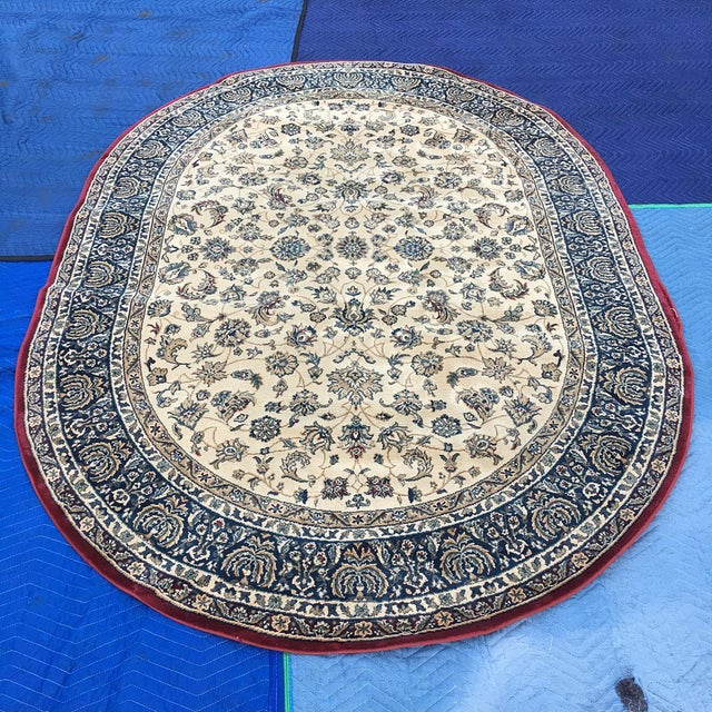 """Traditional Persian Floral Rug - 5'3"""" x 7'5"""" - Image 2 of 6"""