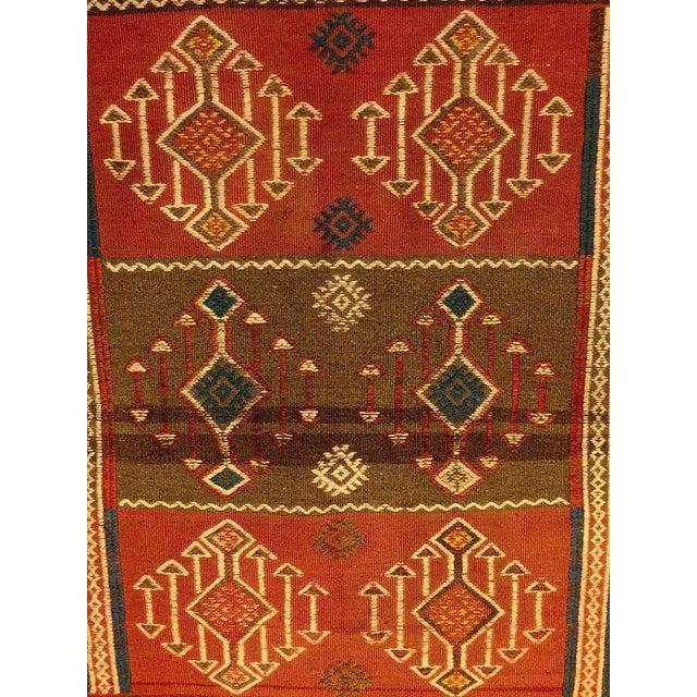 Turkish Antique Kilim Rug - 2′8″ × 4′7″ - Image 4 of 5