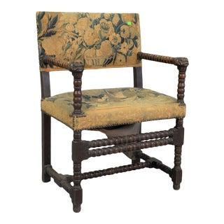 17th Century Jacobean Armchair For Sale
