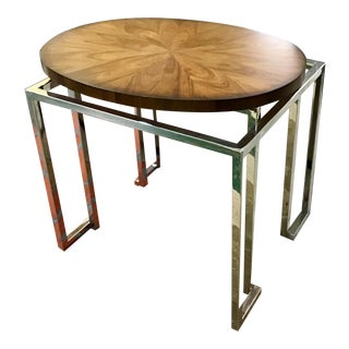 Contemporary Waverly Bernhardt Side Table For Sale