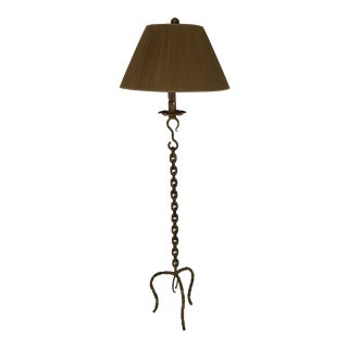 Gold Chain Metal Floor Lamp For Sale