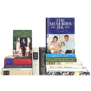 The Life of JFK Books - Set of 15 For Sale