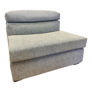 B & B Italia Lounge Chair, New Upholstery For Sale
