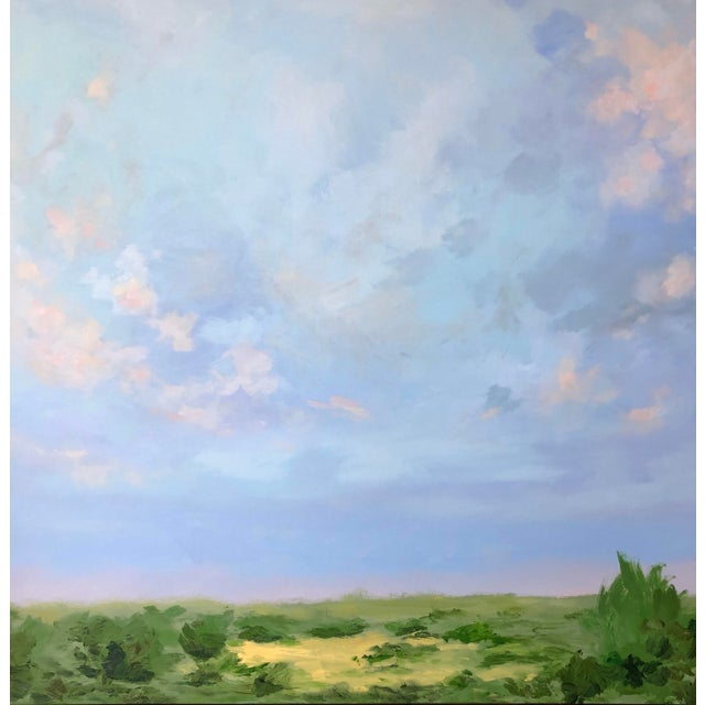 Abstract Southern Abstract Landscape by Chelsea Fly For Sale - Image 3 of 8