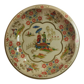 Vintage Daher English Tin Tray 1971 For Sale