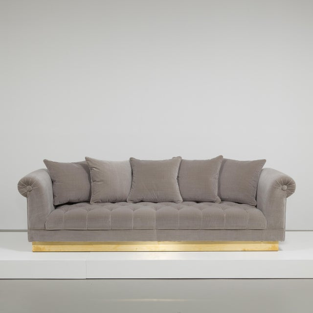 Contemporary Customizable The Deep Buttoned Sofa by Talisman Bespoke For Sale - Image 3 of 11