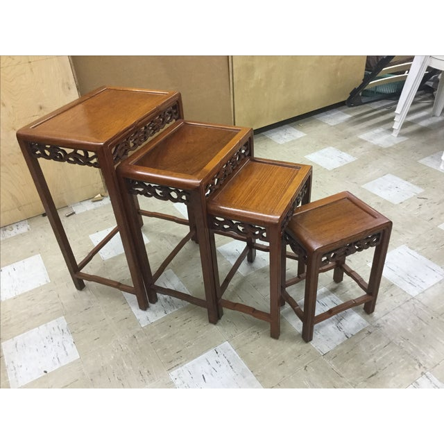George Zee Hong Kong Nesting Tables - Set of 4 - Image 2 of 5