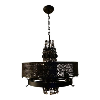 Contemporary Moroccan Style Chandelier For Sale