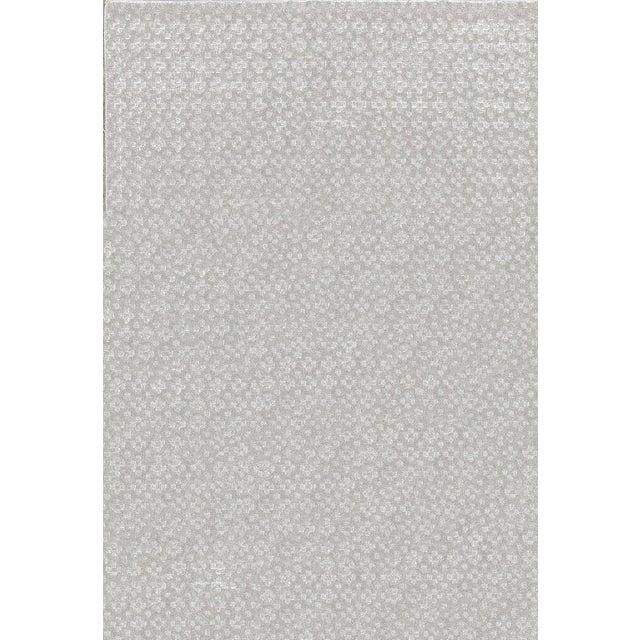 Contemporary Hand Woven Rug - 4'8 X 7' For Sale - Image 4 of 4