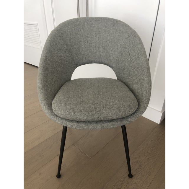 Swell West Elm Orb Upholstered Dining Chairs Set Of 4 Gmtry Best Dining Table And Chair Ideas Images Gmtryco