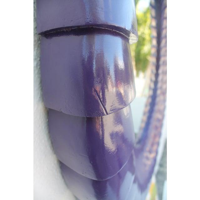 Sunburst Purple Wall Mirror - Image 11 of 11