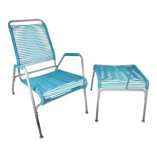 Aimes Aire Lounge Chair & Ottoman Set