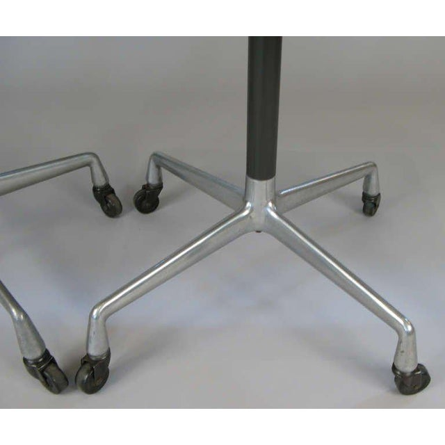 Herman Miller Eames for Herman Miller Aluminum Group Tables - a Pair For Sale - Image 4 of 8