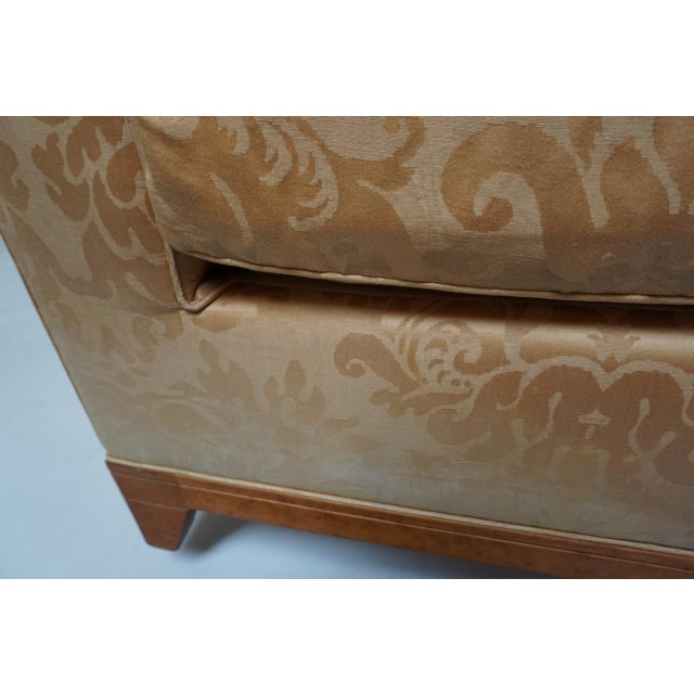 Birch Fortuny Style Club Chairs-A Pair For Sale - Image 7 of 10