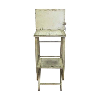 Wood High Chair Stool For Sale
