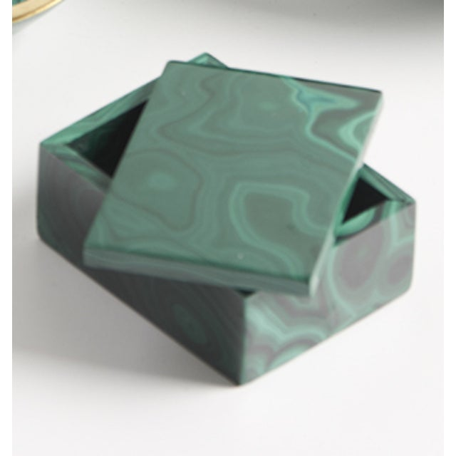 Malachite Box - Image 4 of 4