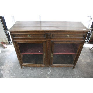Early 19th Century Antique French Glass Door Sideboard Preview