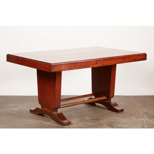 20th Century French Colonial Art Deco Rosewood Desk - Image 2 of 9