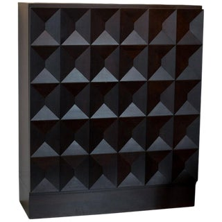 Brutalist Bar Cabinet, Belgium, 1970 For Sale