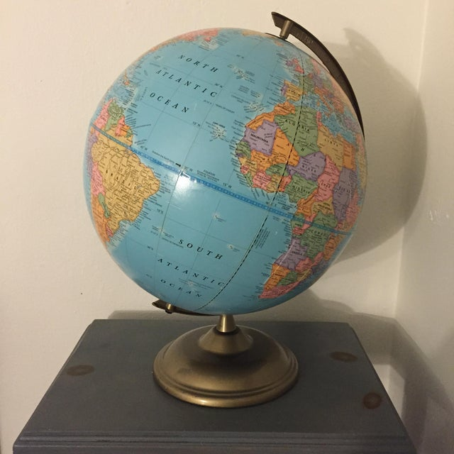 Vintage World Globe - Image 2 of 3