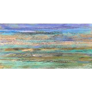 Original Contemporary Abstract Landscape Painting For Sale