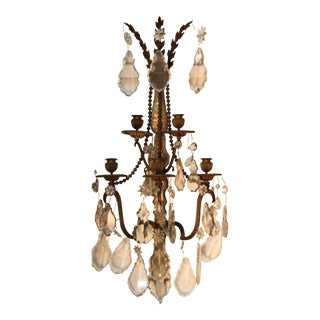 Late 19th C. French Sconces- A Pair For Sale