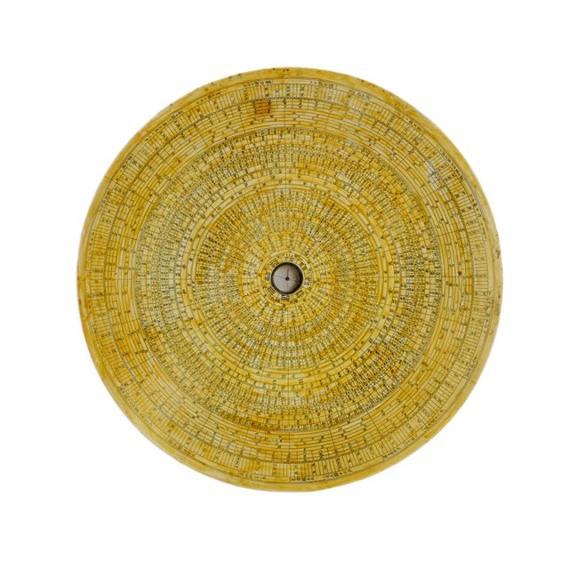 Vintage Chinese Astronomy Map Disk For Sale In Los Angeles - Image 6 of 6