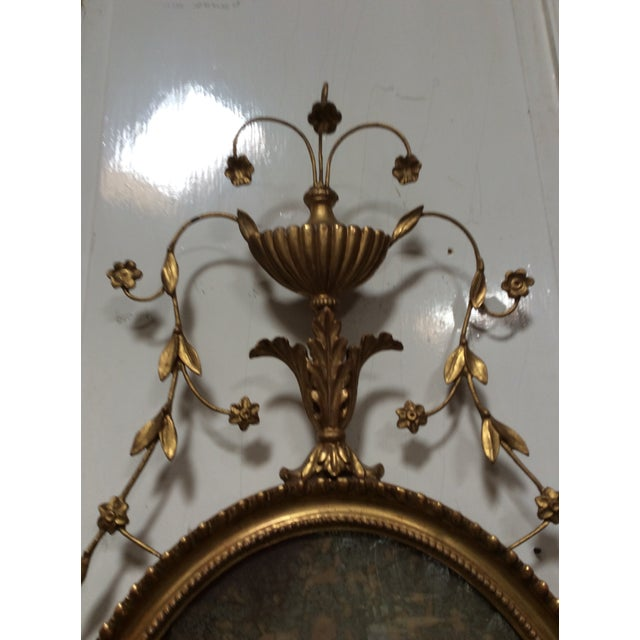 Neoclassical 18th Century Antique Neoclassical Mirror For Sale - Image 3 of 6