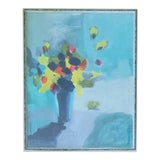 Image of Beth Downey Contemporary Abstral Floral Still Life For Sale
