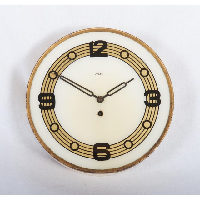 Mid 20th Century Mid Century Wall Clock by Prim For Sale - Image 5 of 5