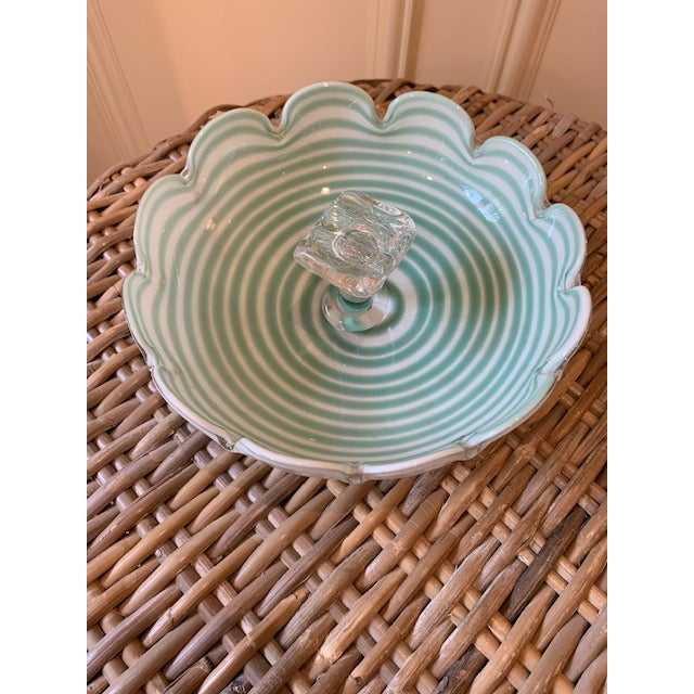 Fratelli Toso Fratelli Toso Murano Candy Dish For Sale - Image 4 of 7
