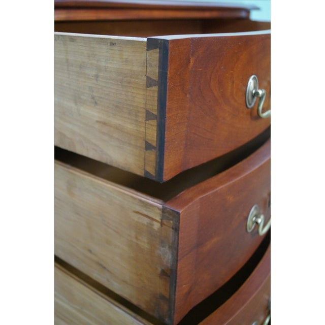 Nathan Margolis Chippendale Serpentine Chest - Image 7 of 10