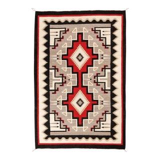 "Vintage Navajo Rug, 4'7"" X 6'10"" For Sale"
