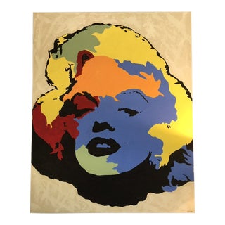Marilyn in Acrylic For Sale