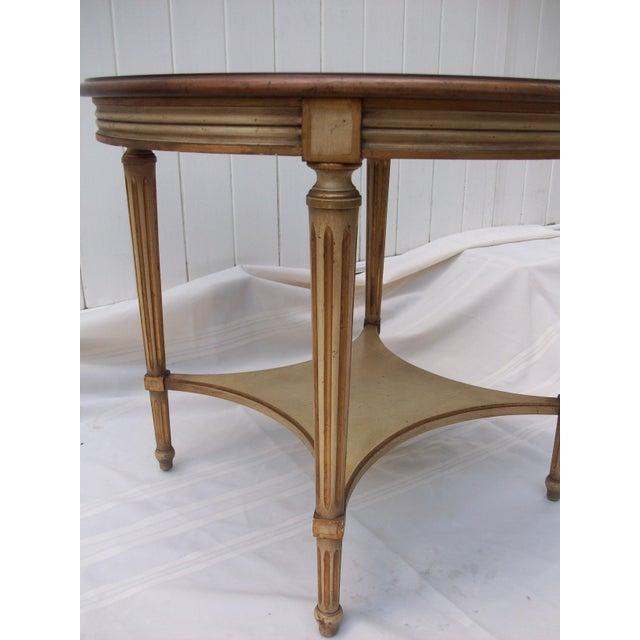 John Widdicomb John Widdicomb Round Side Table For Sale - Image 4 of 8