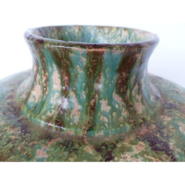 1970s Vintage Glaze Terracotta Pottery Vase For Sale In Miami - Image 6 of 10