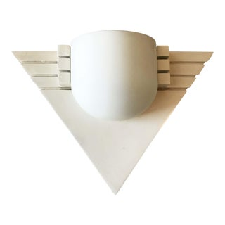 1930s Sconce Signed Sedap For Sale