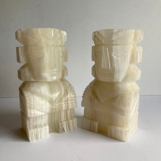 Vintage Onyx Bookends - a Pair Preview