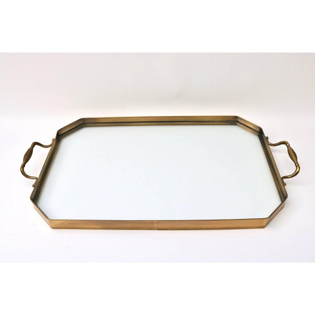Hollywood Regency Vintage Mastercraft Tray Table Faux Bamboo For Sale - Image 3 of 11