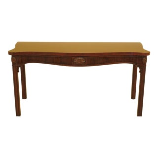 Kittinger Georgian Mahogany Console Table For Sale