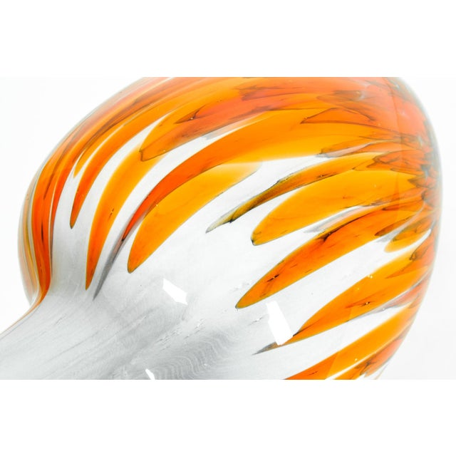Art Deco Mid Century Modern Art Deco Style Murano Glass Piece For Sale - Image 3 of 5
