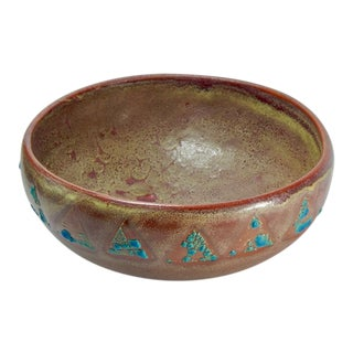 RELICWARE EARTHENWARE BOWL #87 BY ANDREW WILDER