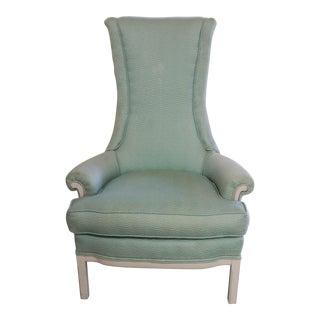 1960s Cottage Sea Foam Green Side Chair