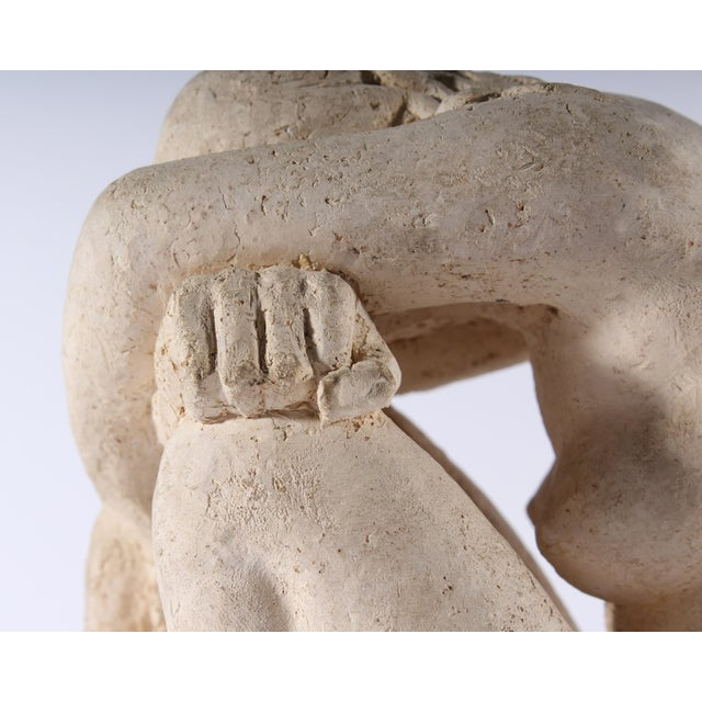 Henri Albert Lagriffoul Signed Clay Sculpture of a Nude Woman For Sale In Indianapolis - Image 6 of 13