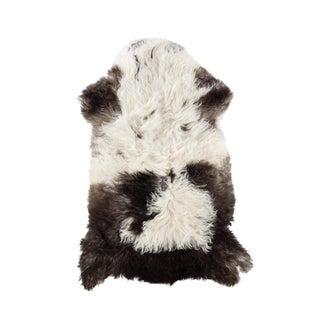 """Contemporary Natural Sheepskin Pelt - 2'0""""x3'1"""" For Sale"""
